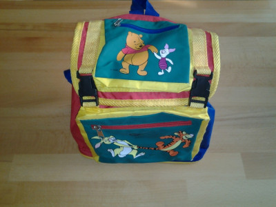 Winnie the Pooh rucsac gradinita foto