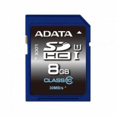 Card memorie AData SDHC Premier 8 GB Clasa 10 UHS-I U1 - Secure digital (SD) card