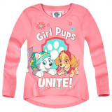 Bluza cu maneca lunga Paw Patrol roz