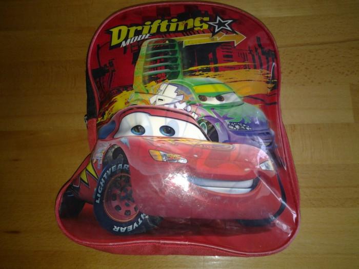 Lightning McQueen Cars ghiozdan 22 x 8 x 29 cm foto mare