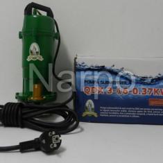 Pompa de apa submersibila Micul fermier QDX 370W 16m 1.5mc GARANTIE - Pompa gradina, Pompe submersibile, de drenaj