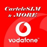 Cartela SIM Vodafone numar 07xy.400.005 cu credit initial 5 euro