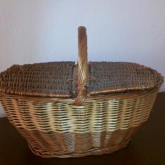 Cos de nuiele, francez, pentru picnic