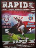 Rapid Bucuresti - Steaua Bucuresti (14 aprilie 2013) / program de meci