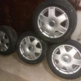 jante aliaj VW Bora originale 5x100 205/55/16 + cauciucuri
