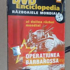 DVD RAZBOAIELE MONDIALE OPERATIUNEA BARBAROSA - Film documentare, Romana