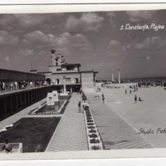 CONSTANTA PLAJA MAMAIA STUDIO FOTOGRAFIC, NR3 - Carte Postala Dobrogea dupa 1918, Necirculata, Fotografie