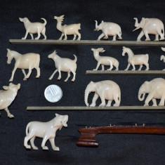 LOT - 13 MINIATURI - FILDES - Colectie - Statuie mica - Figurina - Sculptate ! - Miniatura Figurina