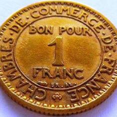 Moneda 1 Franc - FRANTA, anul 1922 *cod 3264, Europa