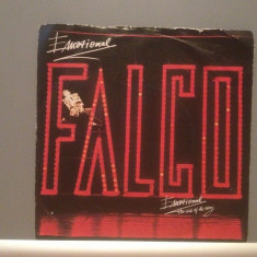 FALCO - EMOTIONAL - Vinil Single Mic - 45 rpm(1987/Teldec /RFG) - Impecabil, universal records