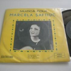 MARCELA SAFTIUC : Fiii Lacrimilor Tale, etc. (vinil) EP cu 3 piese de folk !!! - Muzica Folk electrecord