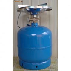 Butelie camping cu gaz : 8 litri