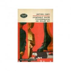 James Cain - Postasul suna întotdeauna de doua ori (editie 1970) - Carte de aventura