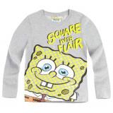 Bluza cu maneca lunga Sponge Bob gri deschis