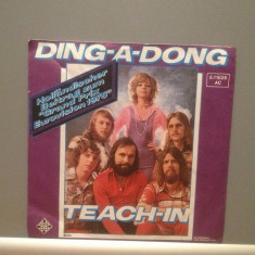 TEACH-IN - DING A DONG - Vinil Single -45 rpm(1975/Telefunken /RFG) -Impecabil - Muzica Pop virgin records