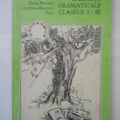 EXERCITII GRAMATICALE CLASELE I - III - L. PROROCU ( 4894 )