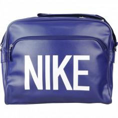 Geanta Nike Heritage Track Shoulder - Originala - Dimensiuni - L38 x H30 x D10cm - Geanta Barbati Nike, Marime: Mica, Culoare: Din imagine