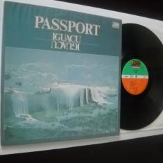 PASSPORT : Iguacu (1977) (vinil jazz rock) Album excelent de jazz rock! Recomand - Muzica Jazz Altele