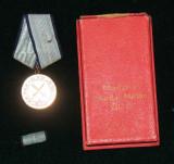 MEDALIA MERITUL MILITAR RPR CLASA 1 + CUTIE