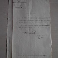 DOCUMENT SEMNAT OLOGRAF DE PRIMARUL BUCURESTIULUI, 1911 - Brevet