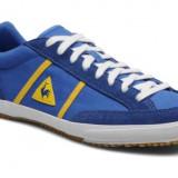 Adidasi Le Coq Sporif Avron Originali, Garantie, Masura 44, Albastru, Piele intoarsa, Le Coq Sportif