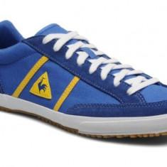 Adidasi Le Coq Sporif Avron Originali, Garantie, Masura 44 - Adidasi barbati Le Coq Sportif, Culoare: Albastru, Piele intoarsa