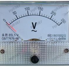 Ampermetru analogic de panou, 15A, DC - 111462