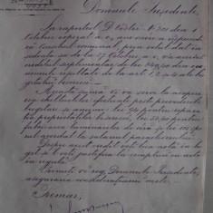 DOCUMENT SEMNAT OLOGRAF DE PRIMARUL BUCURESTIULUI=1898 - Brevet