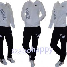 Trening Nike dama! - Trening dama Nike, Marime: M, L, XL, Culoare: Alb, Bumbac