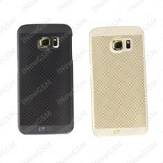 Husa protectie spate climate cool Loopee Samsung Galaxy S7 Edge G925F - Husa Telefon, Negru