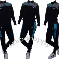 Trening Adidas pentru dama! - Trening dama Adidas, Marime: S, L, Culoare: Negru, Bumbac