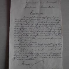 DOCUMENT SEMNAT OLOGRAF DE PRIMARUL BUCURESTIULUI-1898 - Brevet