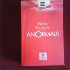 Michel Foucault Anormalii - Carte Psihologie