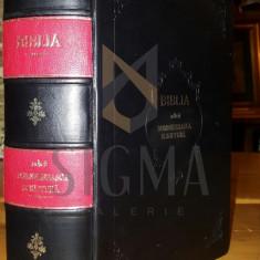EDITIA SFANTULUI SINOD - BIBLIA ADECA DUMNEZEIASCA SCRIPTURA, BUCURESTI, 1914 - Carti Istoria bisericii