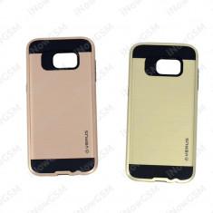 Husa spate protectie VERUS Samsung Galaxy S7 Edge G935F - Husa Telefon, Auriu