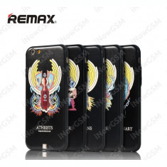 Husa protectie GOD originala REMAX neagra Apple iPhone 6 6S - Husa Telefon Remax, Negru