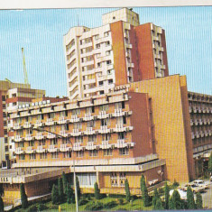 Bnk cp Targu Jiu - Hotel Gorjul - necirculata - marca fixa - Carte Postala Oltenia dupa 1918, Printata