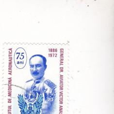 Timbre st. uzate romanesti medicine aeronautica - Timbre Romania, Nestampilat