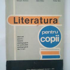 LITERATURA PENTRU COPII - GEORGETA MUNTEANU ( 5019 )