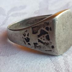 UNICAT Inel argint de VRAJITOARE vechi RAR executat manual Piesa de Colectie