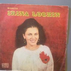 IRINA LOGHIN - MIORITA (EPE 01475/ELECTRECORD) - VINIL/POPULARA - Muzica Populara