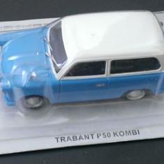 Macheta DeAgostini - Trabant P50 Kombi (Break) -  Masini de Legenda Polonia, 1:43