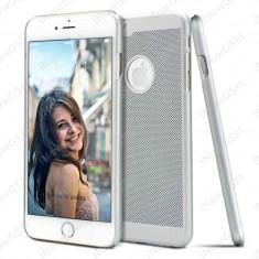 Husa protectie spate Loopee policarbonat Apple iPhone 6 6S - Husa Telefon, Argintiu