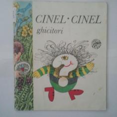 CINEL - GHICITORI { BOGAT SI FRUMOS ILUSTRAT } ( 5010 ) - Carte cu ghicitori pentru copii