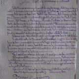 DOCUMENT SEMNAT OLOGRAF DE PRIMARUL BUCURESTIULUI, 1899