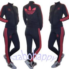 Trening Adidas Slim-Fit pentru dama! - Trening dama Adidas, Marime: XL, Culoare: Gri, Bumbac