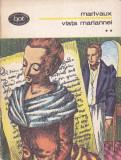 MARIVAUX - VIATA MARIANNEI VOLUMUL 2 ( BPT 834 ), 1975