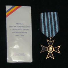 MEDALIA CRUCEA COMEMORATIVA WW2 - Medalii Romania