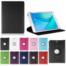 Husa rotativa ptr. Samsung Galaxy Tab A 9.7 T550/551/555+Folie+Touch Pen - Husa Tableta, 9.7 inch