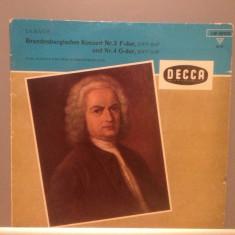 BACH - BRANDENBURG CONCERT 2 & 4 cu K.RICHTER(1968/DECCA /RFG) - Vinil/Impecabil, decca classics